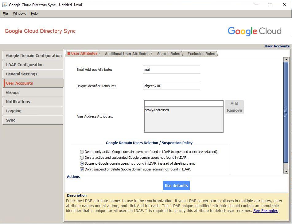 AD DS用意してGoogle Cloud Directory Sync(GCDS)でユーザー同期するまで